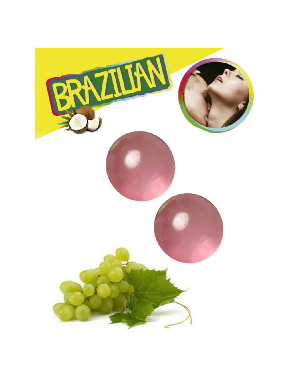 2 BRAZILIAN BALLS GRAPE 8435097633855