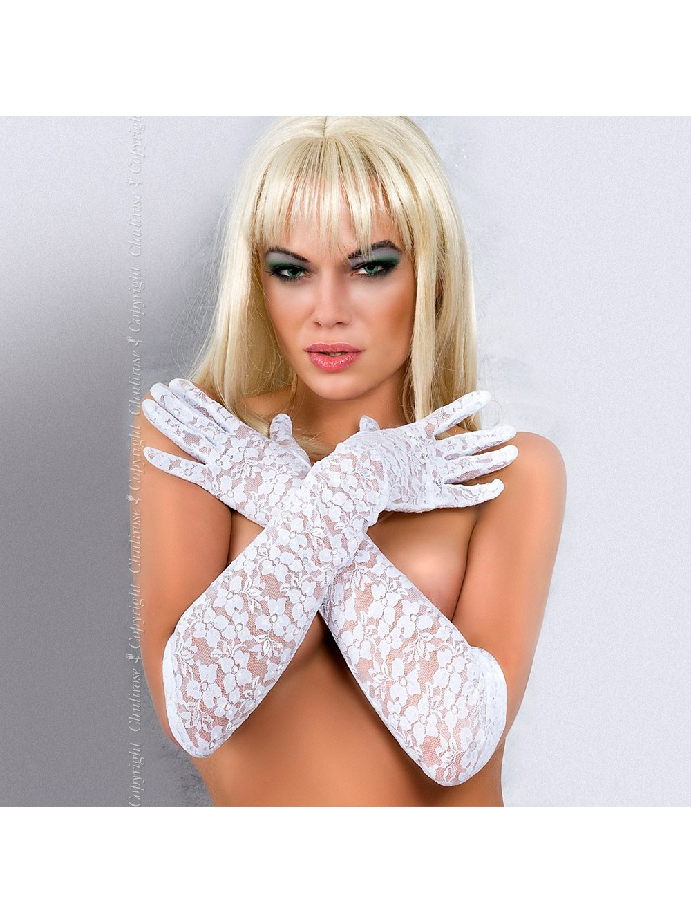 GLOVES CR-3071 WHITE 5902010006131