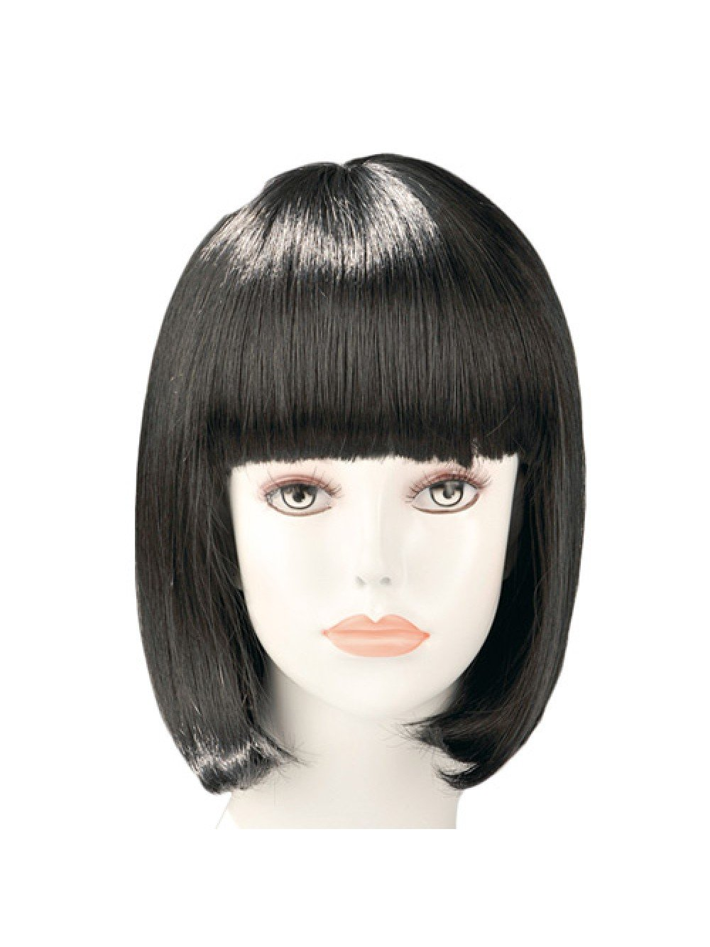China Doll Black Bob Wig 3479225403274
