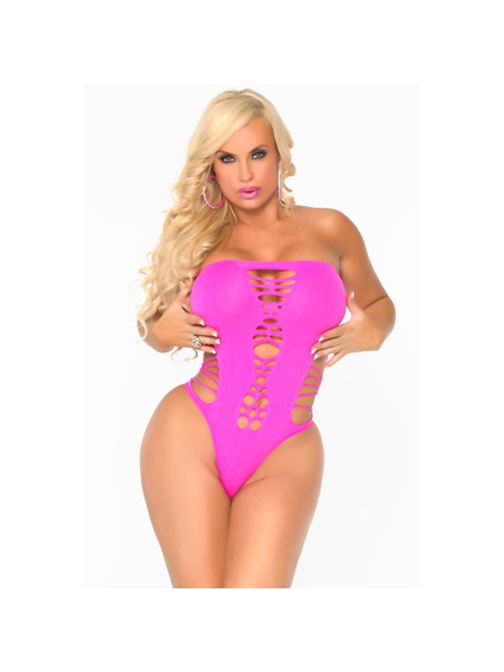 Maja Flava Seamless Bodysuit - Pink 655998353616
