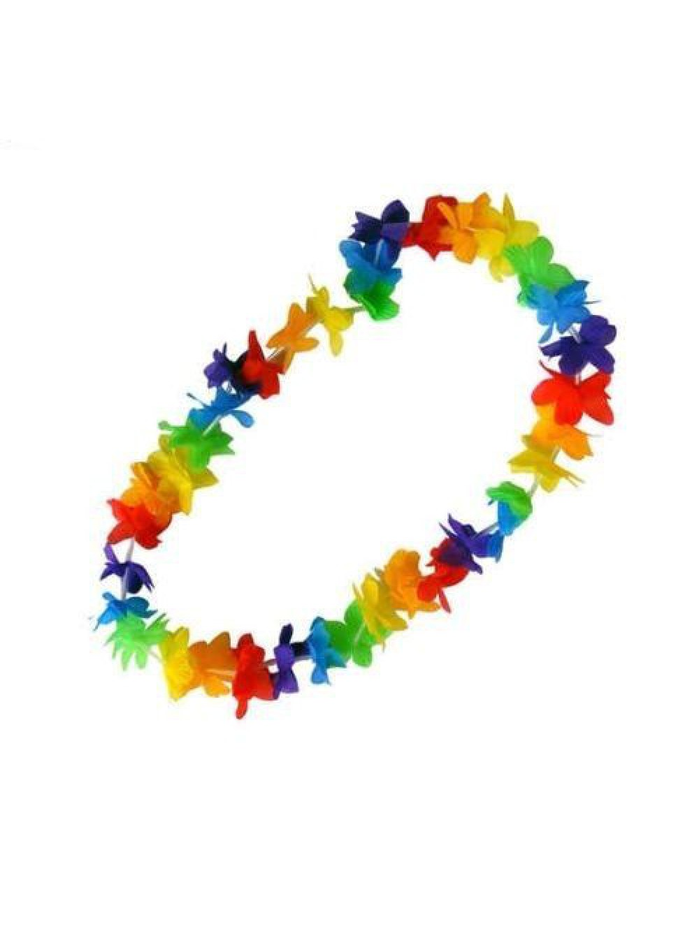 MULTICOLOR HAWAIIAN NECKLACE 8435082710707