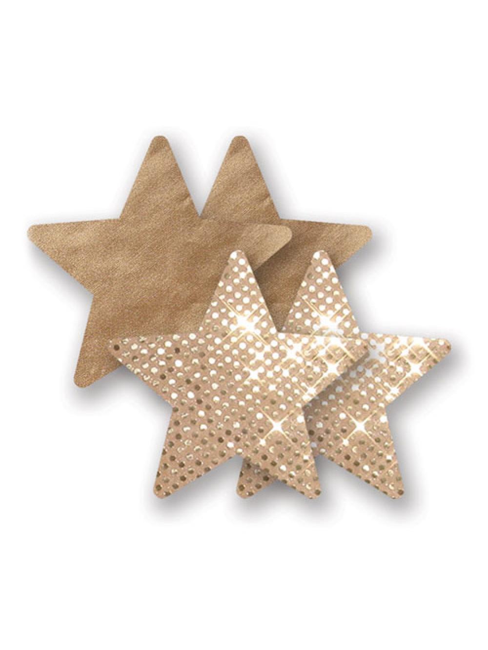 Nippies Pasties - Gold Super Star 876651000382