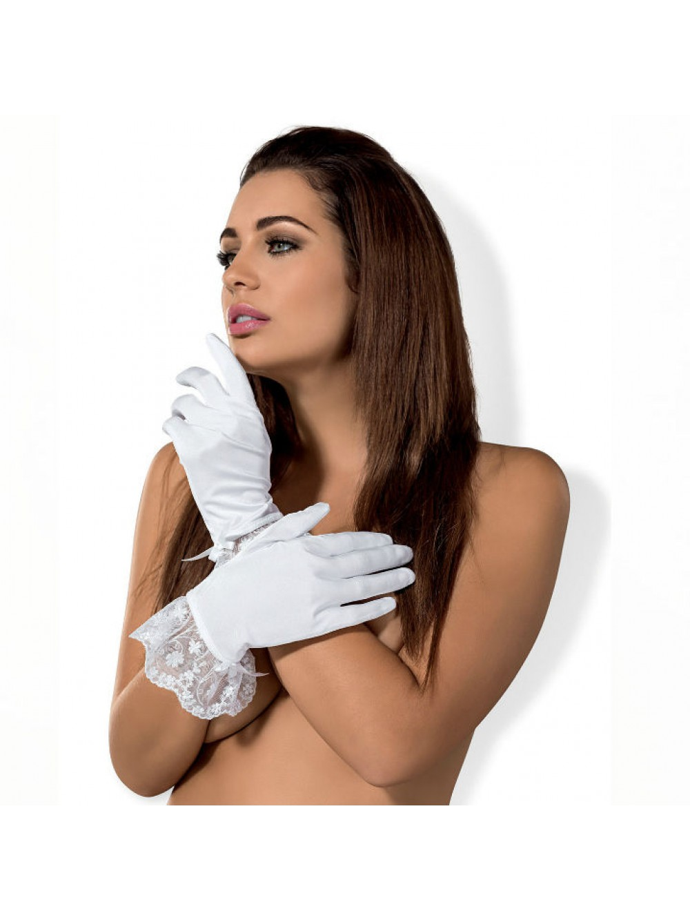 OBSESSIVE ETHERIA GLOVES WHITE 5901688210468