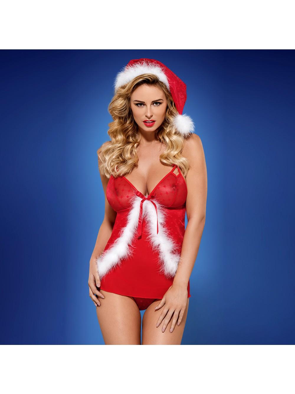 OBSESSIVE CHRISTMAS COSTUME SANTACUTIE BABYDOLL 5901688211373