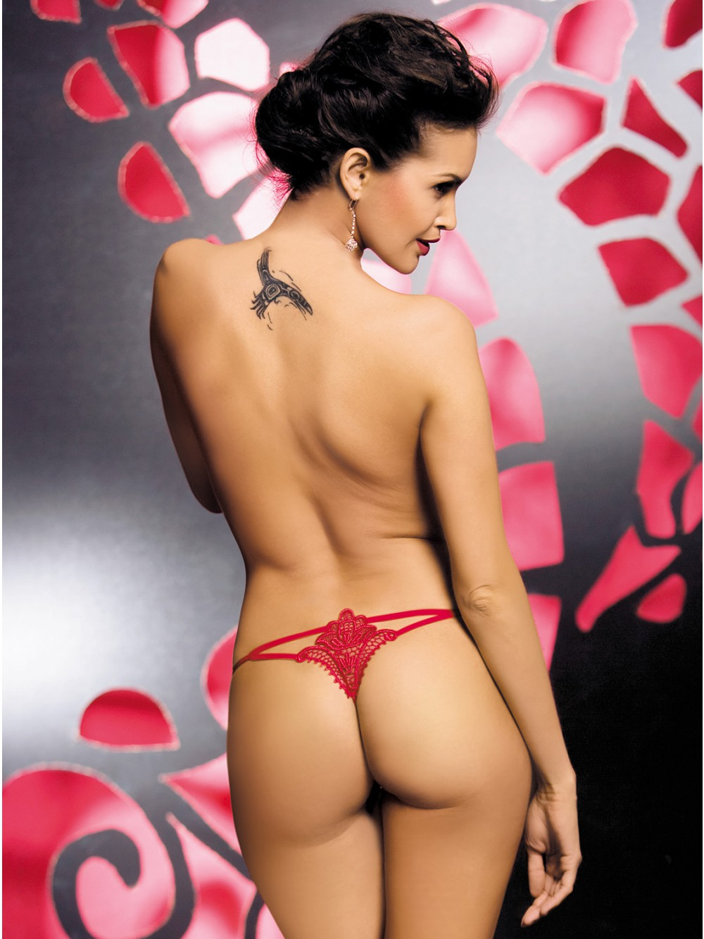 OBSESSIVE LUIZA THONG RED 5900308555378
