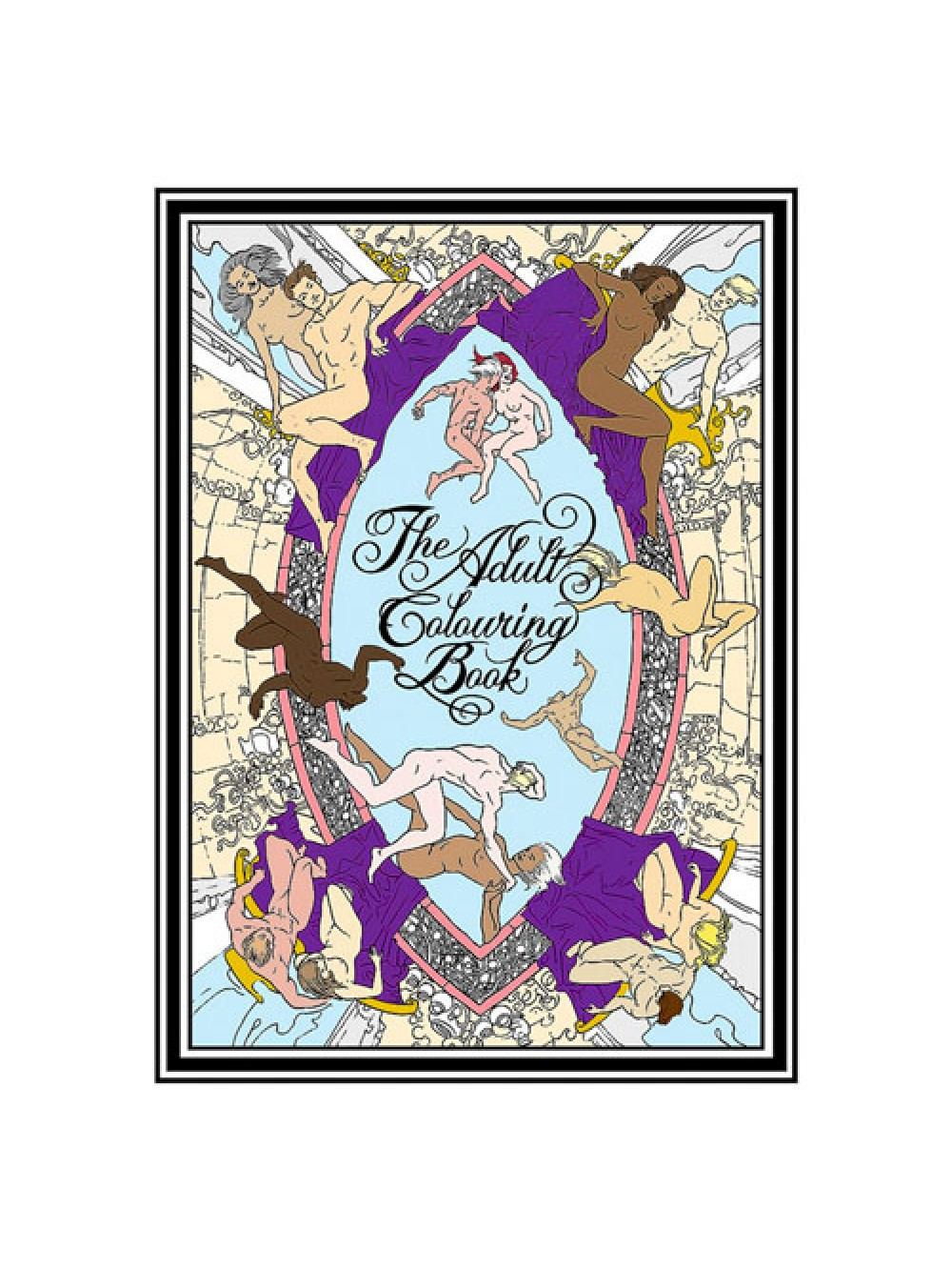 The Adult Colouring Book 9780962328466