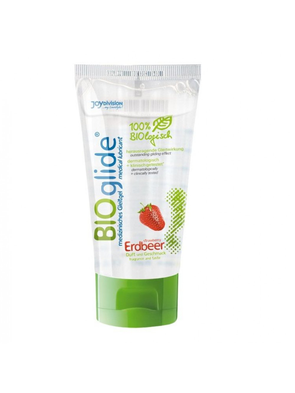 LUBRIFICANTE COMMESTIBILE FRAGOLA BIOGLIDE 80 ML