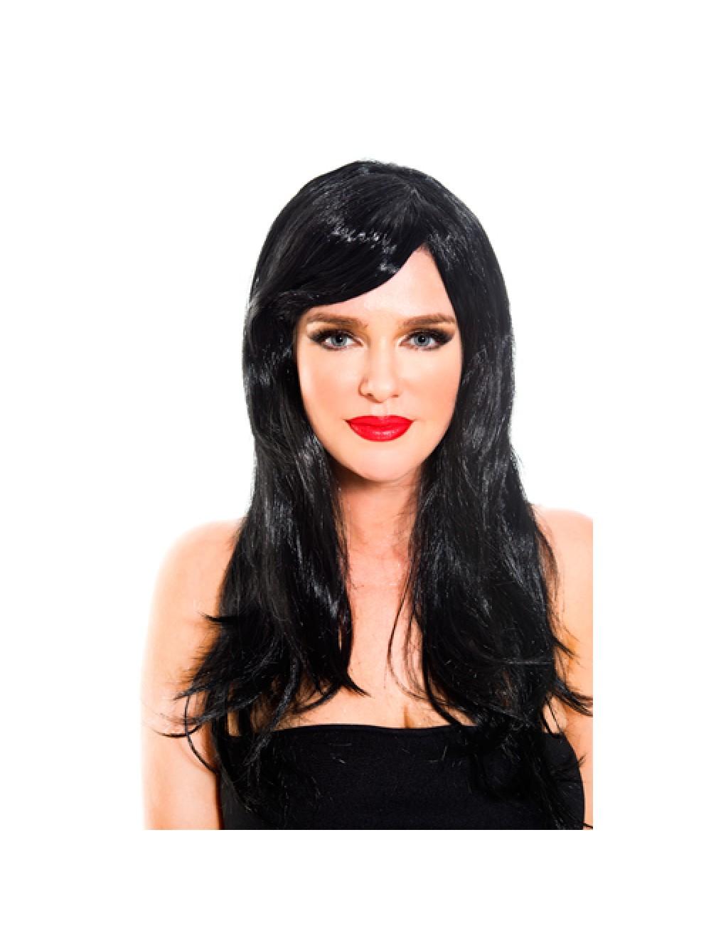 Black wig BLACK