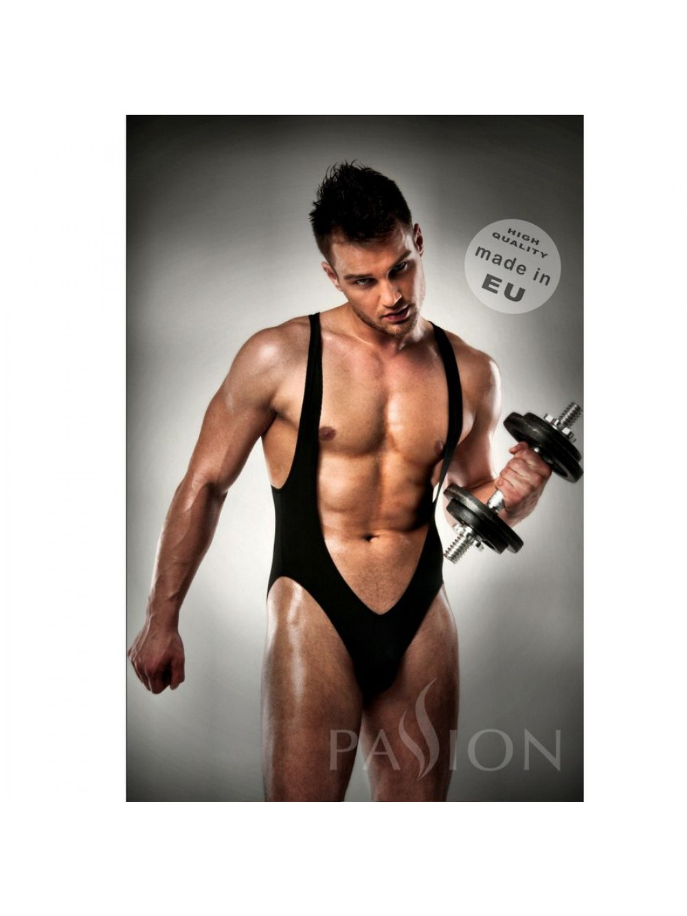 BODYJOCKSTRAP BLACK MEN LINGERIE PASSION L/XL