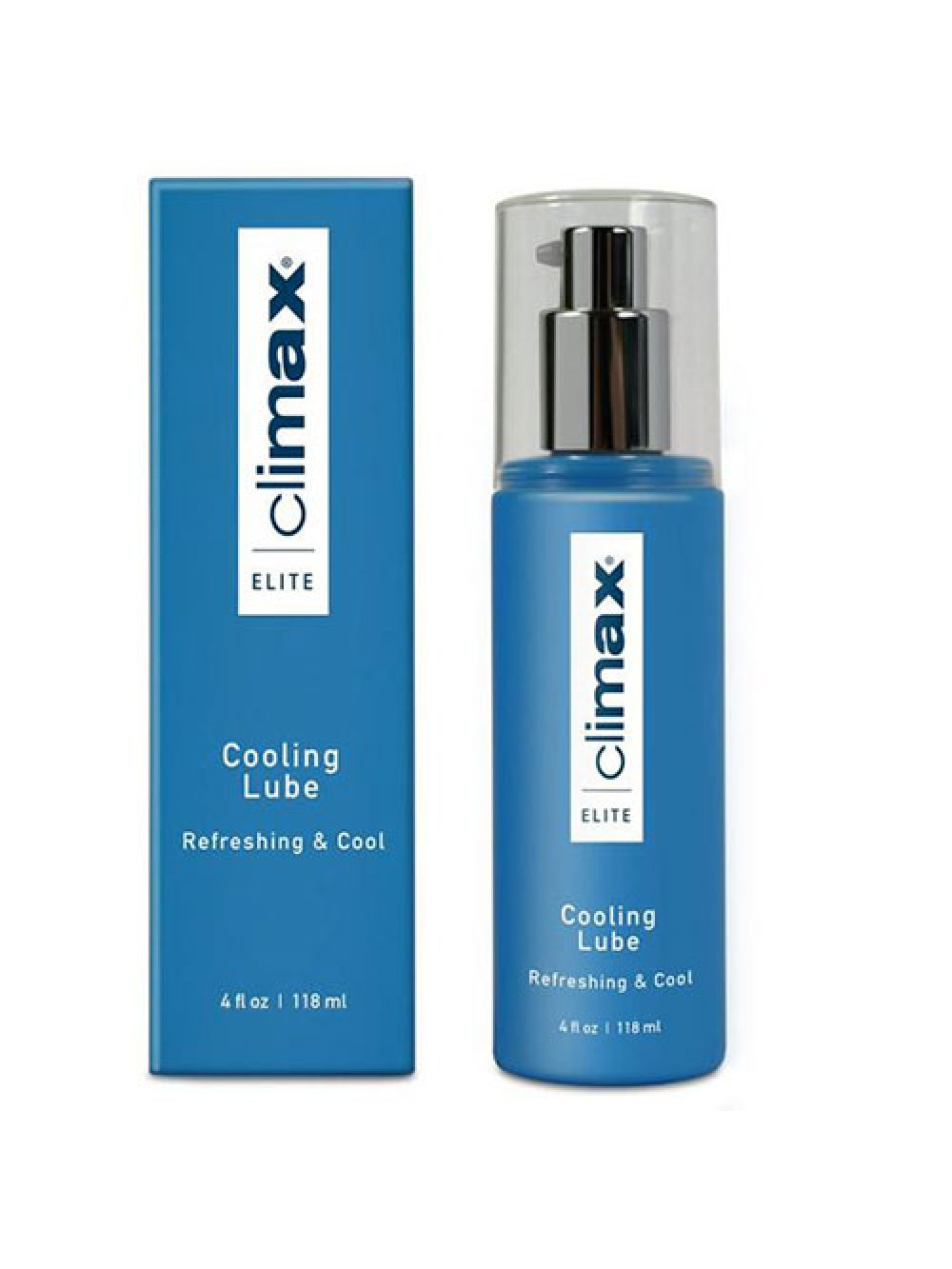 CLIMAX ELITE KISSABLE COOLING LUBRICANT 118ML