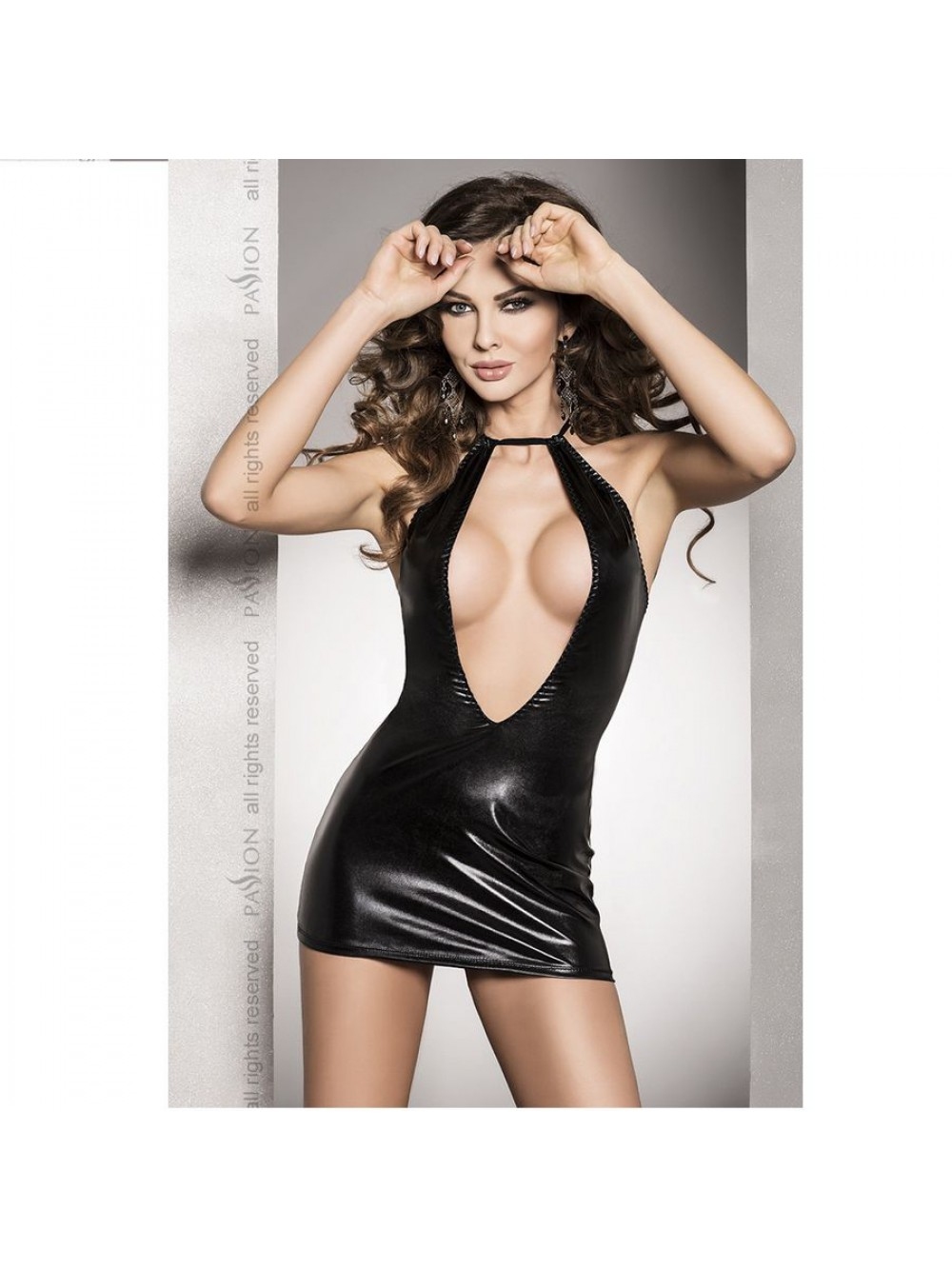 Passione Woman Dress / String, Nero (noir), L/XL