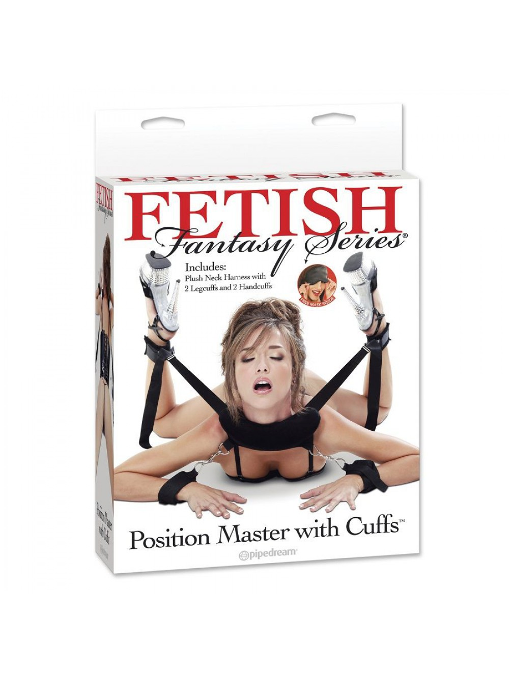 COSTRITTIVI FETISH FANTASY SERIES POSITION MASTER WITH CUFFS