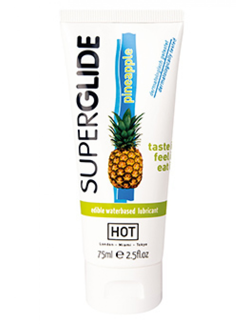 HOT SUPERGLIDE LUBR WB PINEAPP 75ML