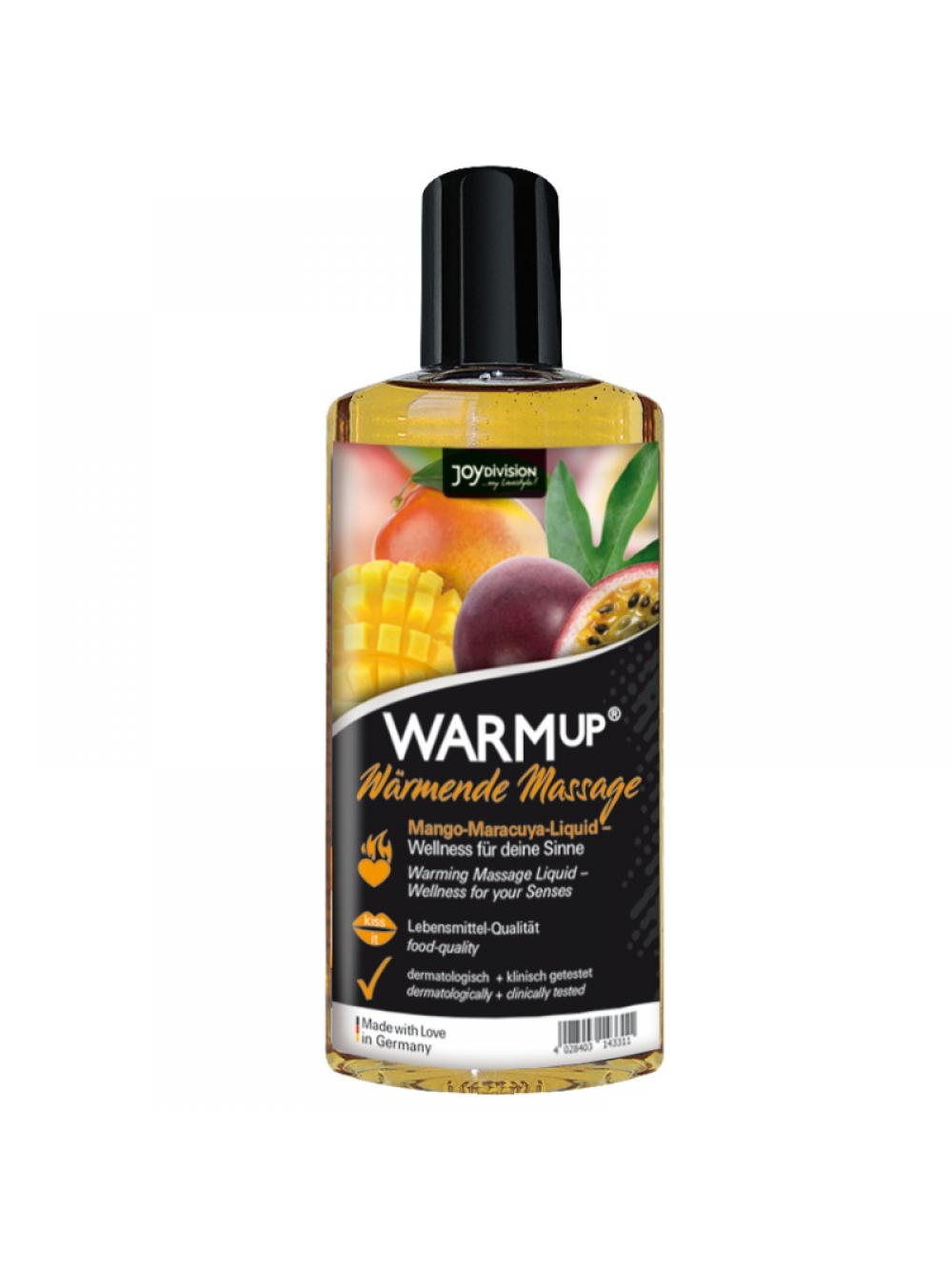 WARMUP MANGO AND MARACUYA MASSAGE OIL 150 ML