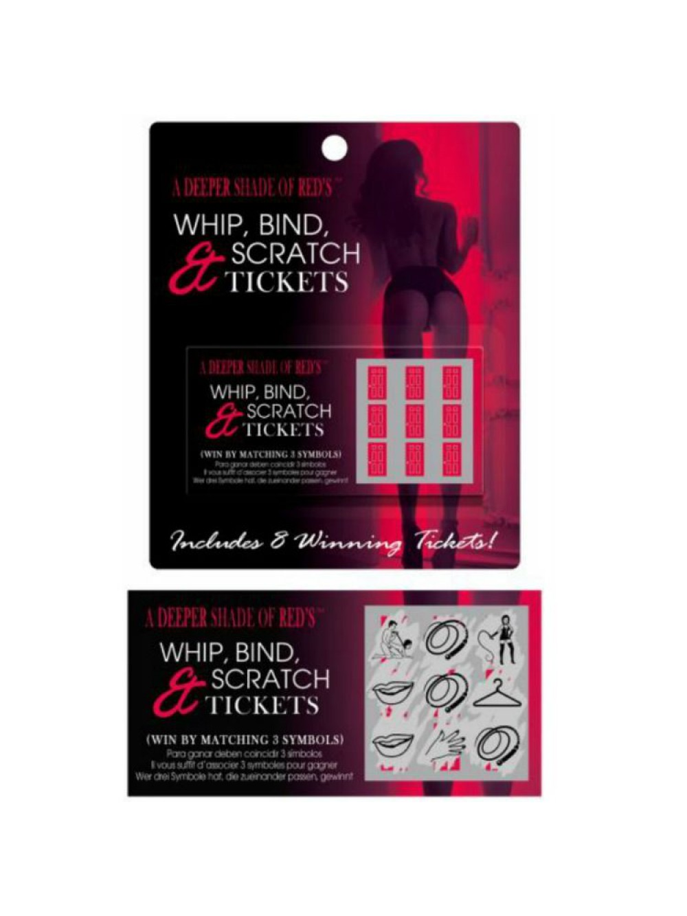 KHEPER GAMES WHIP, BIND AND SCRATCH TICKETS