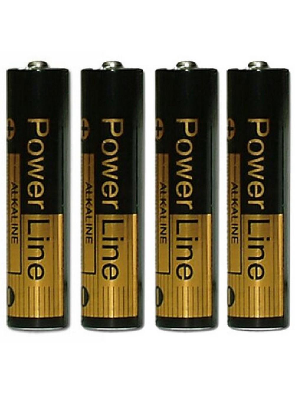 Panasonic - Alkaline Power ministilo, confezione da 4
