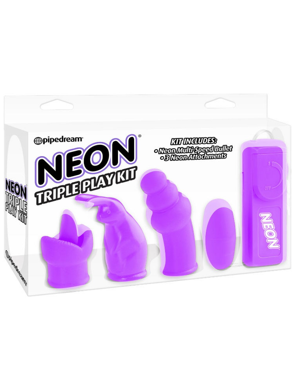 NEON TRIPLE PLAY KIT PURPLE