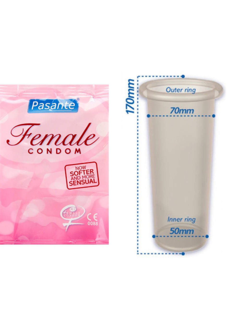 Preservativo Femminile 3 p.