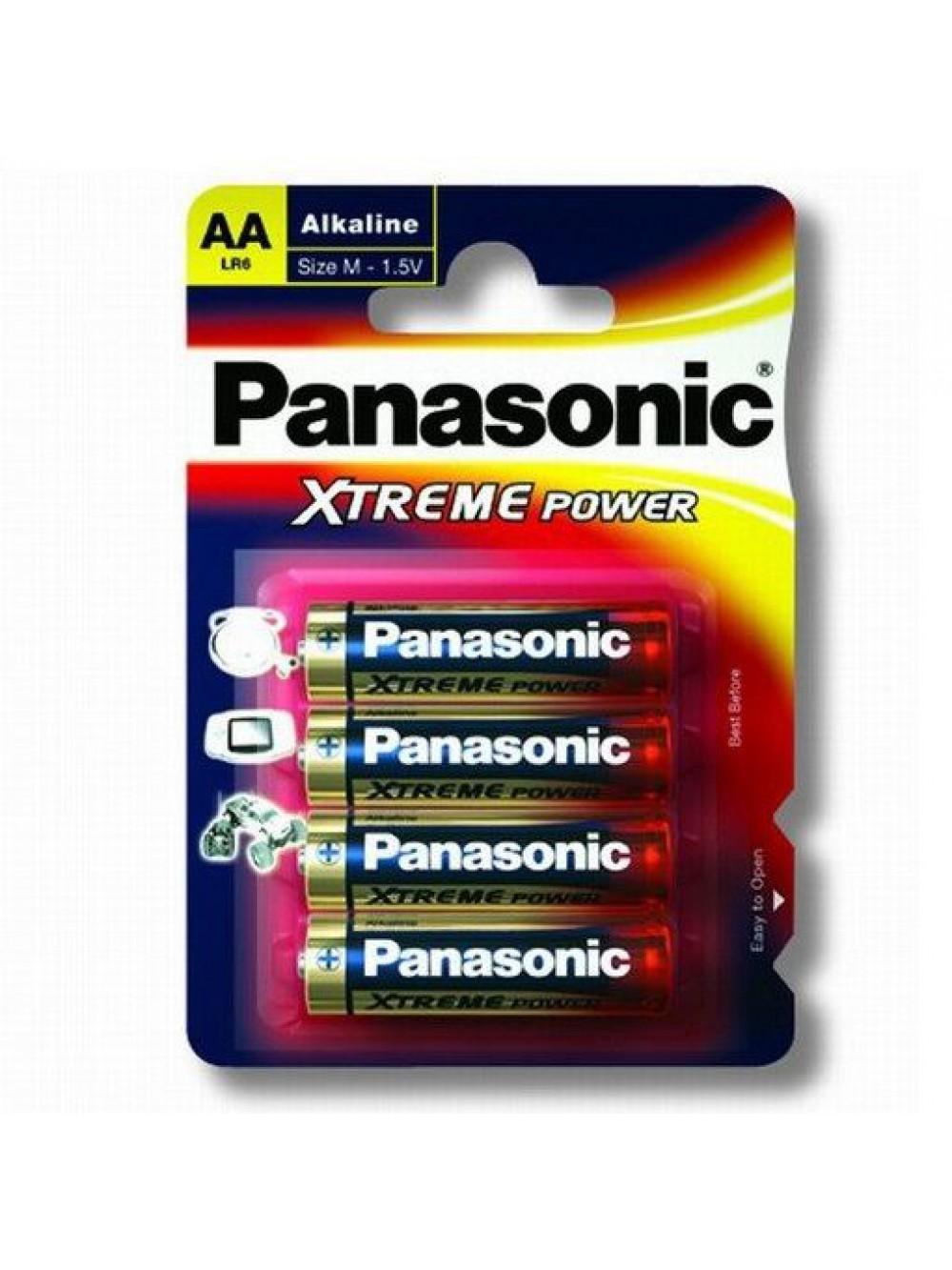 PILA LR6/AA ALCALINAS PANASONIC XTREME POWER