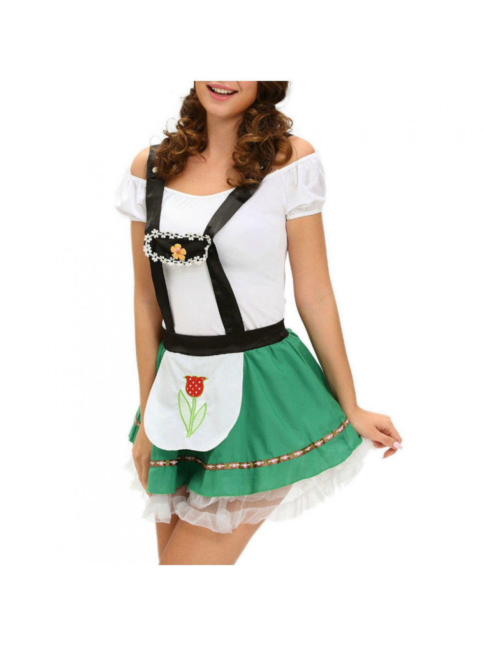 QUEEN COSTUME OCTOBERFEST ONE SIZE