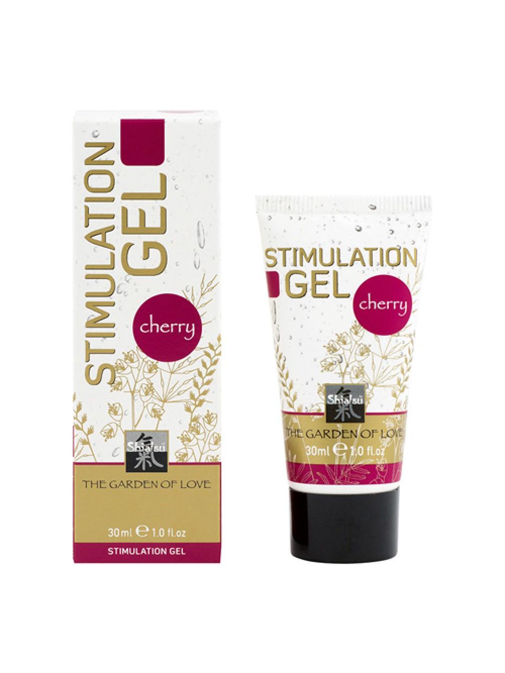 Shiatsu Stimulation Gel - Cherry