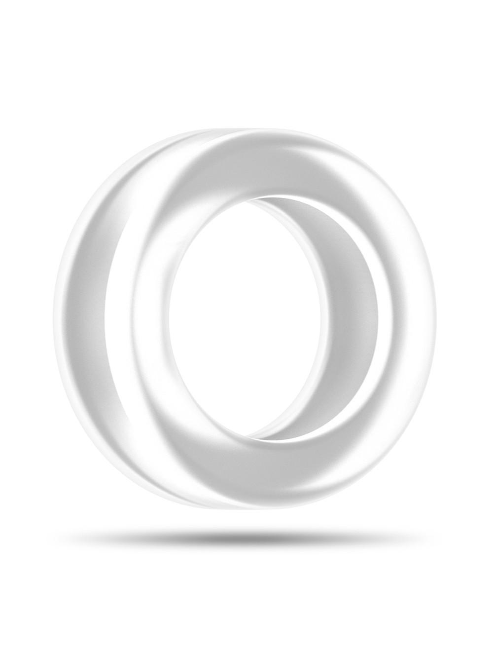 Sono SON039TRA Anello Fallico in Silicone, Trasparente - 1 Prodotto