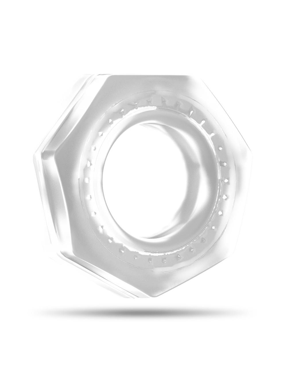 Sono SON043TRA Anello Fallico in Silicone, Trasparente - 1 Prodotto