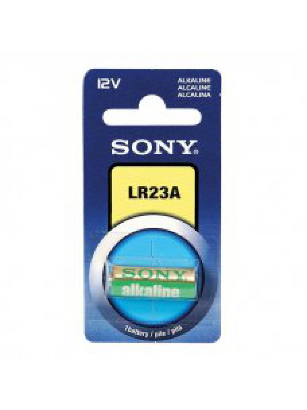 Sony LR23, 12V, miniAlkaline Alkaline 12V - non-rechargeable batteries (12V, miniAlkaline, Alkaline, Cylindrical)