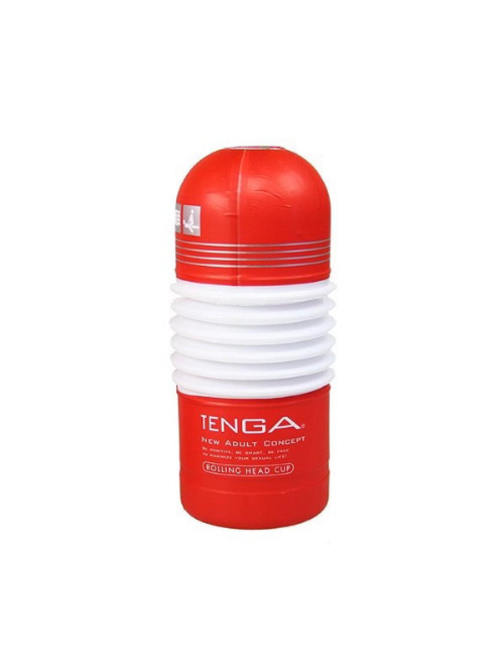 MASTURBATORE TENGA ROLLING HEAD CUP RED