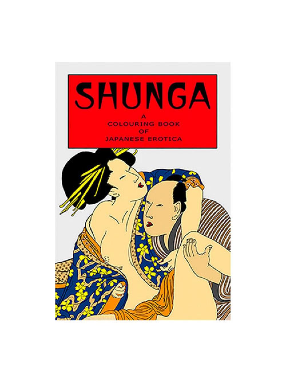 Il libro di colorazione degli adulti Shunga
