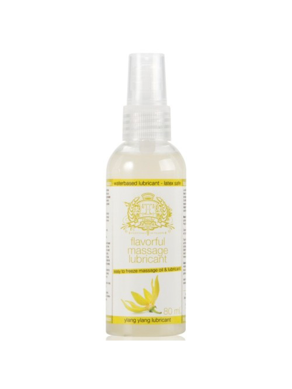 TOUCHE ICE YLANG YLANG LUBRICANT AND MASSAGE OIL 80ML