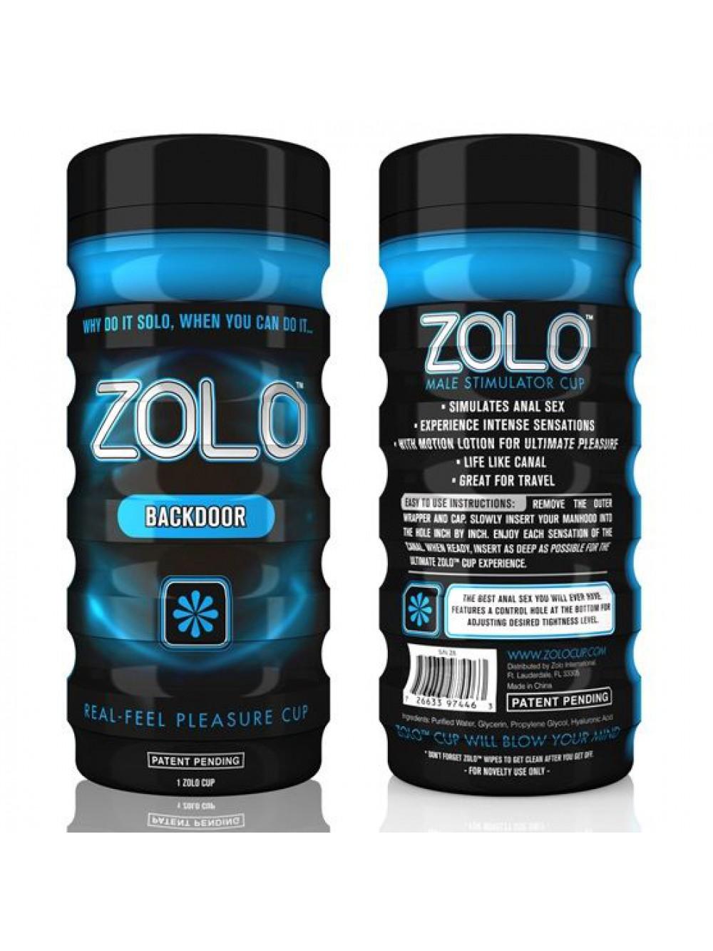 Zolo Back Door Masturbatore Cup
