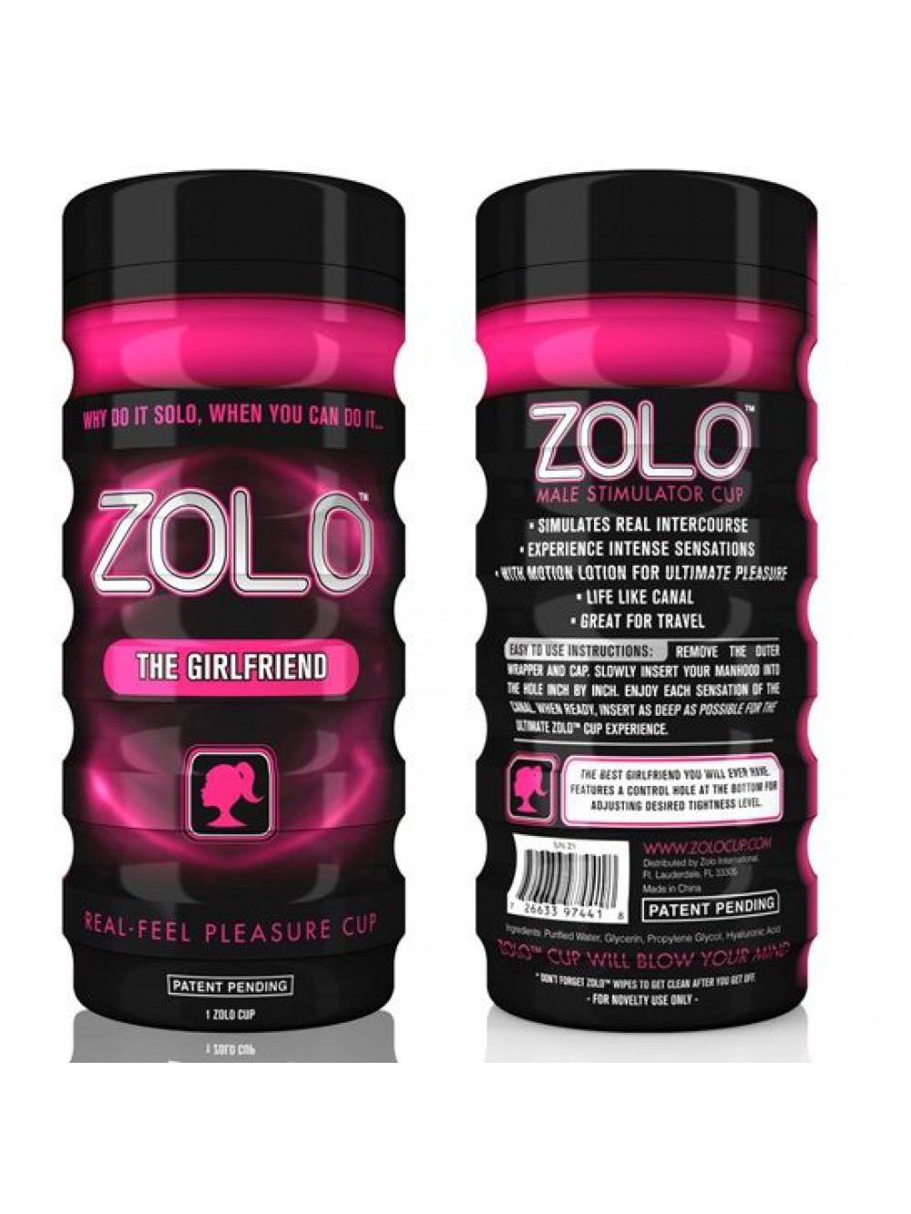 Zolo The Girlfriend Cup masturbatore