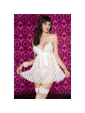 Baby Doll with polka dots - white 4711168561253
