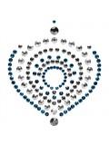MIMI FLAMBOYANT METALLIC BODY ORNAMENTS BIJOUX INDISCRETS BRONZE AND BLUE toy
