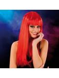 Cabaret Wig Red Long 3479225410166