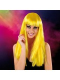 Cabaret Wig Yellow Long 3479225410128