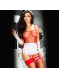 MAID COSTUME CR-3443 RED 5902013013624