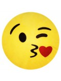 EMOTICONWORLD COJIN EMOTICONO KISS 32 CM 8431234151497