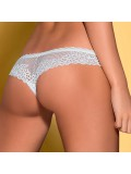 OBSESSIVE ALABASTRA CROTCHLESS THONG WHITE toy