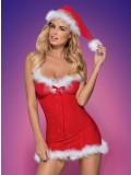 OBSESSIVE CHRISTMAS COSTUME MERRILY CHEMISE 5901688207543