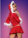 OBSESSIVE CHRISTMAS COSTUME SANTA LADY SKIRTY SET toy