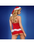 OBSESSIVE CHRISTMAS COSTUME SANTACUTIE BABYDOLL photo