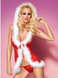 OBSESSIVE CHRISTMAS COSTUME XMAS BABYDOLL 5900308558515