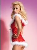 OBSESSIVE CHRISTMAS COSTUME XMAS BABYDOLL toy