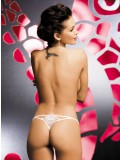 OBSESSIVE LUIZA THONG WHITE 5900308555392