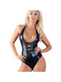 Wet Look Body With Fishnet - Black 4024144304127 photo