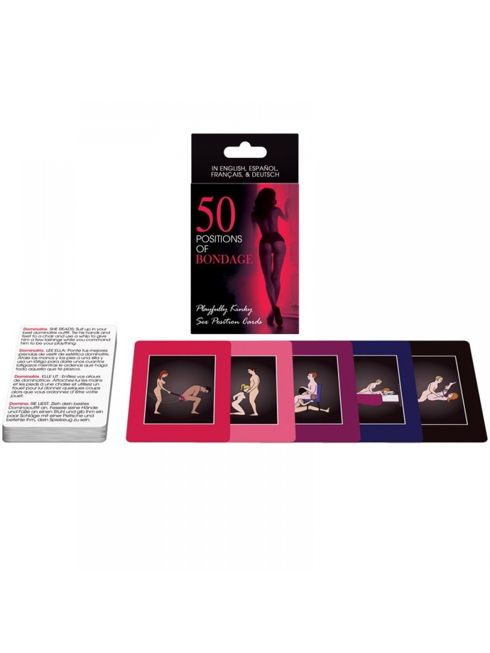50 POSITIONS OF BONDAGE CARDS 825156108185