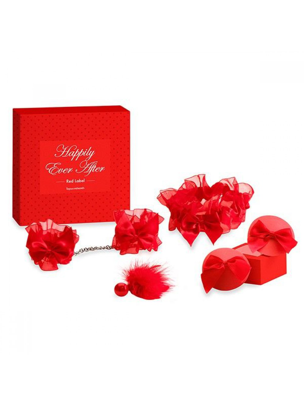 BIJOUX INDISCRETS HAPPILY EVER AFTER RED LABEL 8437008001647
