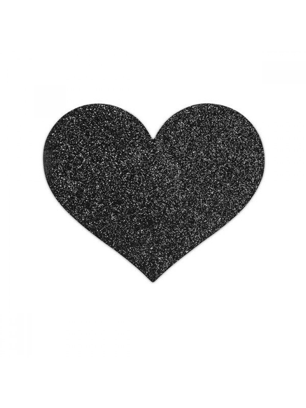 BIJOUX PEZONERAS FLASH BLACK HEART 8437008003054
